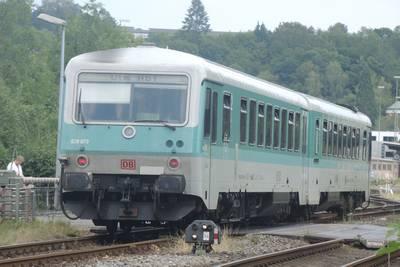 BR628 in Sigmaringen, Duitsland